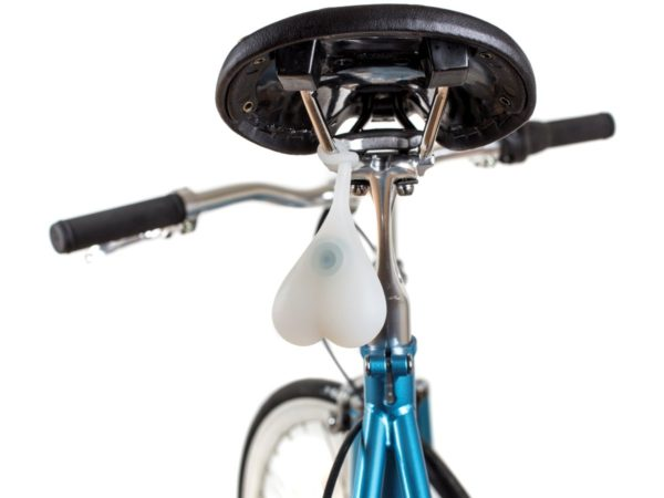 Bike balls on a bicycle
