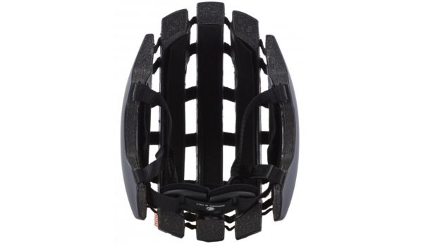 Product image of Brooks England bicycle helmet inside in black
