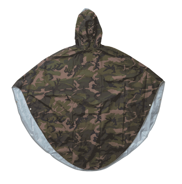 Product image of The people's poncho in camoflage