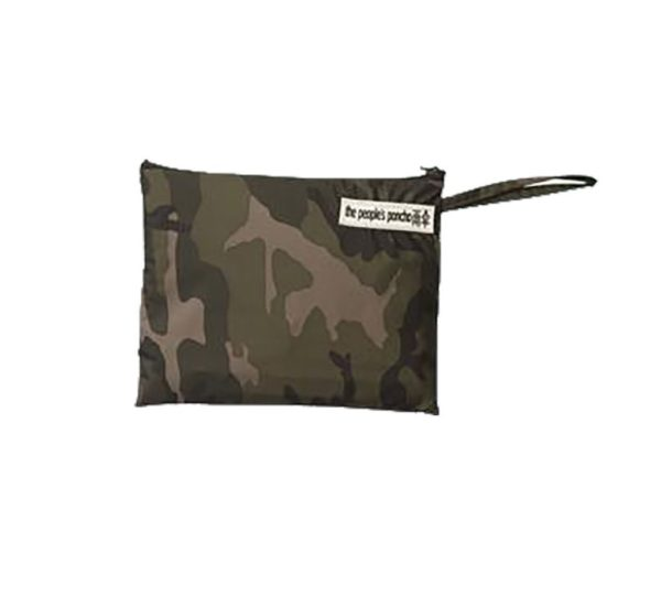 Product image of The people's poncho wrap in the bag in camoflage