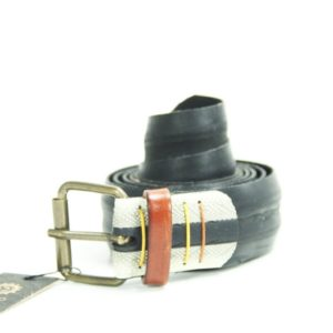 Product image of Cycled bicycle belt in white and black