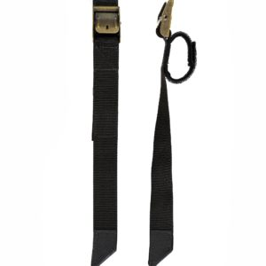 Product image of Oaks & Phoenix's mounting straps in black
