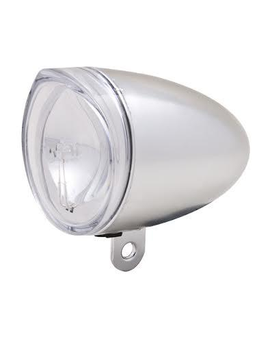 Product image of Spanninga front light in silver