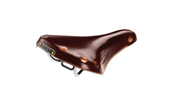 Product image of Brooks england Team Pro S bicycle saddle in brown