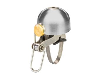 Product image of Brick Lane Bikes 6ku classic bicycle bell in silver